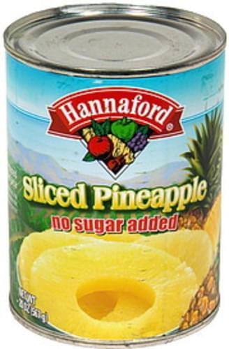 Hannaford Sliced Pineapple - 20 oz