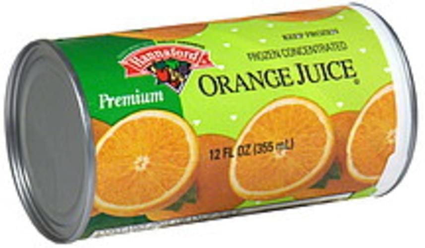 Hannaford Orange Juice Frozen Concentrate - 12 oz