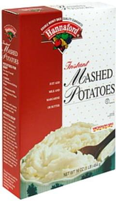 Hannaford Instant Mashed Potatoes