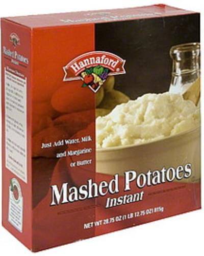 Hannaford Instant Mashed Potatoes - 28.75 oz