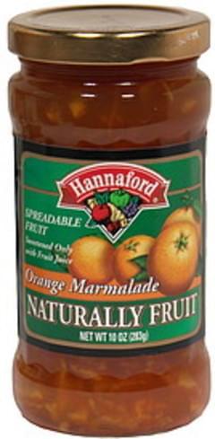 Hannaford Spreadable Fruit Orange Marmalade
