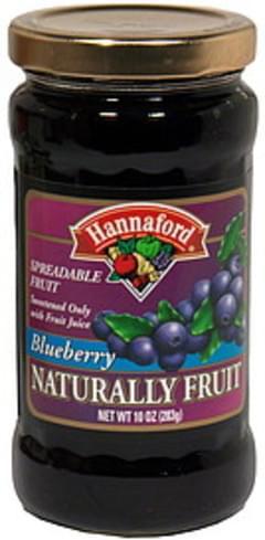 Hannaford Spreadable Fruit Blueberry
