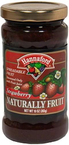 Hannaford Spreadable Fruit Strawberry