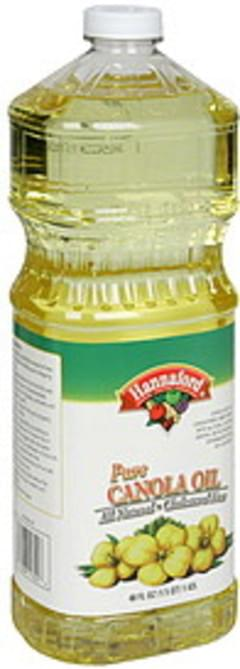 Hannaford Canola Oil Pure