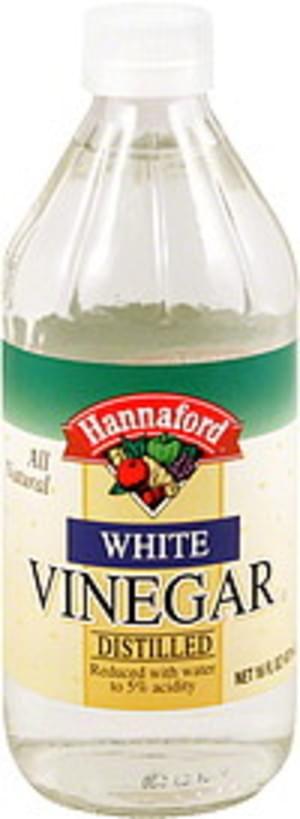 Hannaford White, Distilled Vinegar - 16 oz