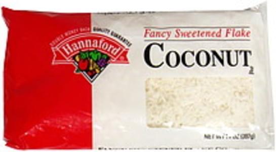 Hannaford Coconut Fancy Sweetened Flake