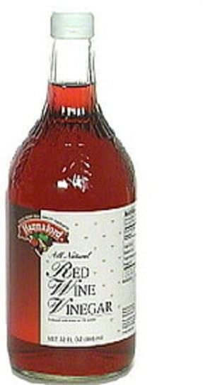 Hannaford Red Wine Vinegar - 32 oz