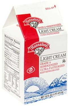 Hannaford Light Cream