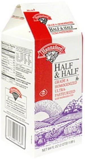 Hannaford Half & Half - 64 oz