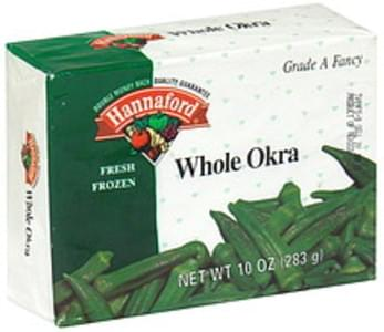 Hannaford Whole Okra Fresh Frozen