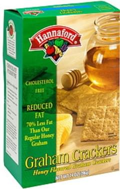 Hannaford Graham Crackers Honey Flavored