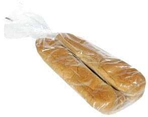 Hannaford Sandwich Rolls 12-Inch Wheat Italian