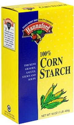 Hannaford 100% Corn Starch