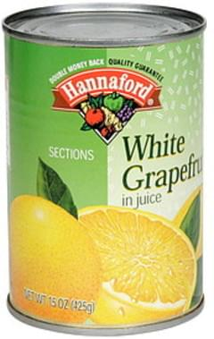 Hannaford White Grapefruit in Juice