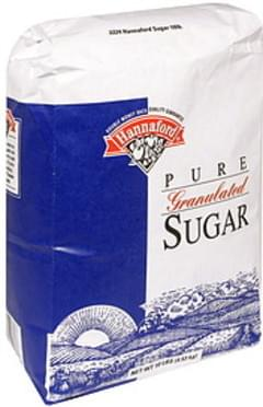 Hannaford Sugar Pure, Granulated