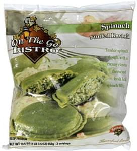 Hannaford Stuffed Ravioli Spinach