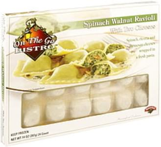 Hannaford Spinach Walnut Ravioli with Two Cheeses