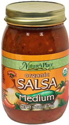 Hannaford Salsa Organic, Medium
