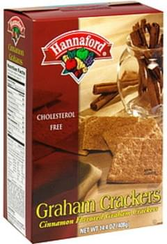 Hannaford Graham Crackers Cinnamon Flavored