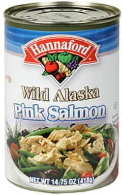 Hannaford Pink Salmon Wild Alaska