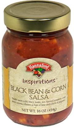 Hannaford Salsa Black Bean & Corn