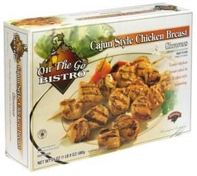 Hannaford Chicken Breast Cajun Style