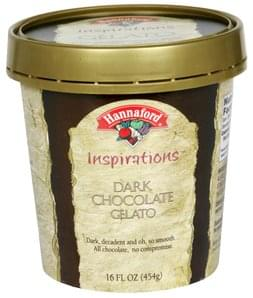 Hannaford Gelato Dark Chocolate