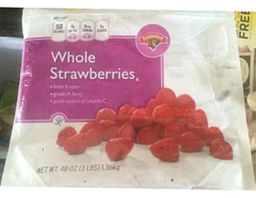 Hannaford Whole Strawberries - 140 g