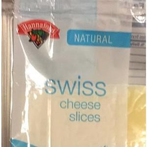 Hannaford Swiss Cheese Slices