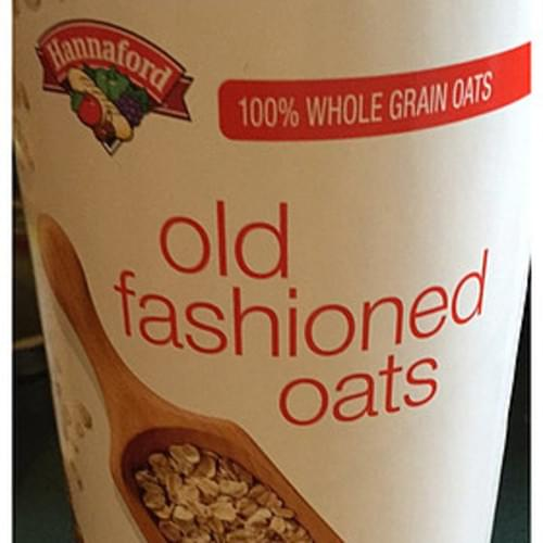 Hannaford Old Fashioned Oats - 40 g