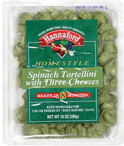 Hannaford Tortellini Spinach with Three Cheeses