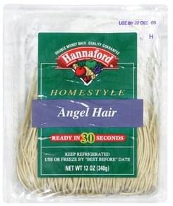 Hannaford Angel Hair Pasta Homestyle