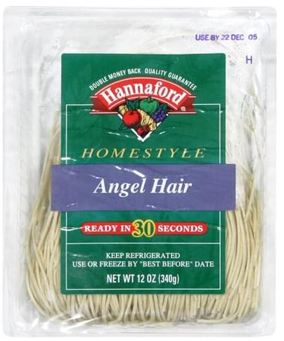 Hannaford Homestyle Angel Hair Pasta - 12 oz