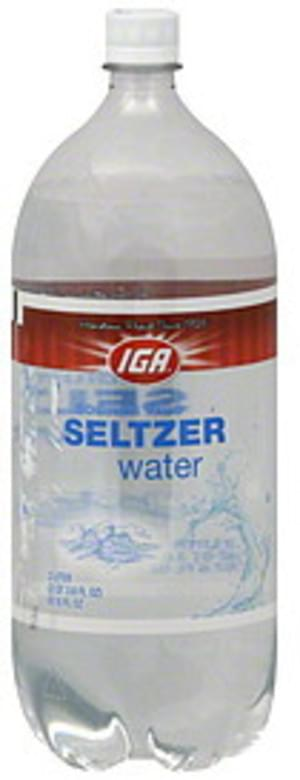 IGA Seltzer Water - 67.6 oz
