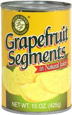 Fanci Food Grapefruit Segments in Natural Juice