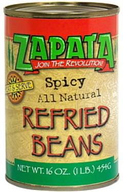 Zapata Refried Beans Spicy