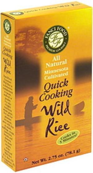 Fanci Food Quick Cooking Wild Rice - 2.75 oz