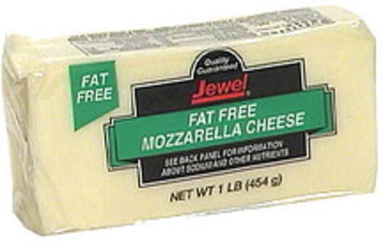 Jewel Mozzarella, Fat Free Cheese - 1 lb