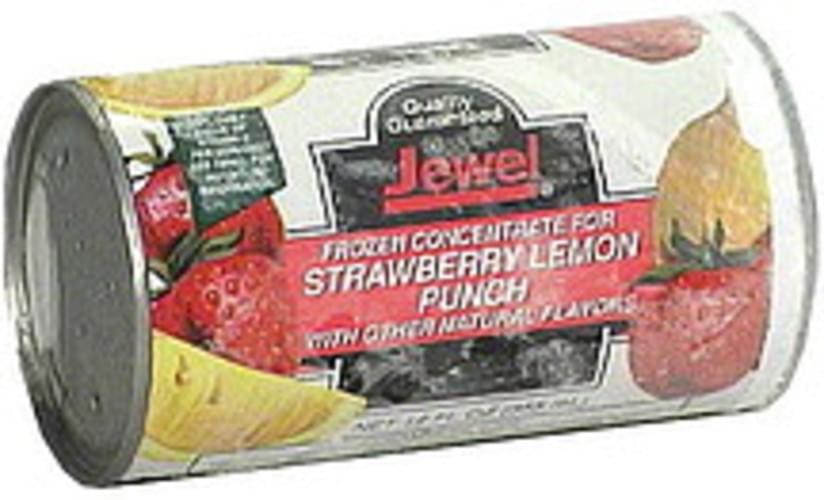Jewel Strawberry Lemon Punch, Frozen Concentrate - 12 oz