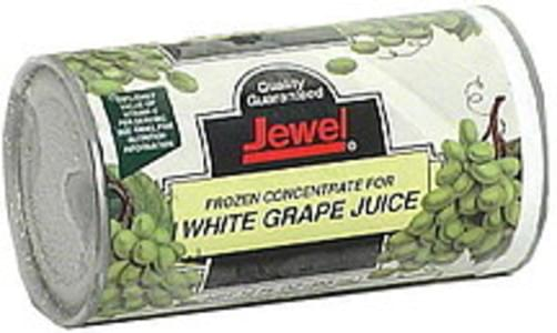 Jewel White Grape Juice, Frozen Concentrate