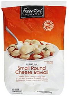 Essential Everyday Ravioli Small Round Cheese