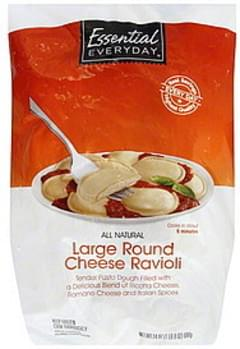 Essential Everyday Ravioli Large Round Cheese