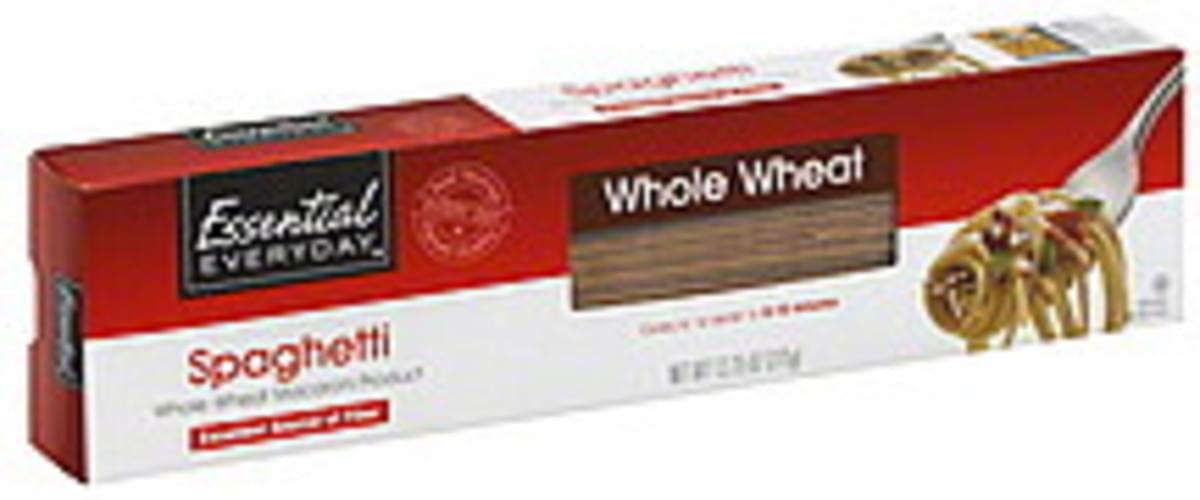 Essential Everyday Whole Wheat Spaghetti - 13.25 oz