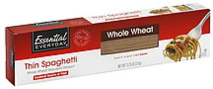 Essential Everyday Spaghetti Thin, Whole Wheat