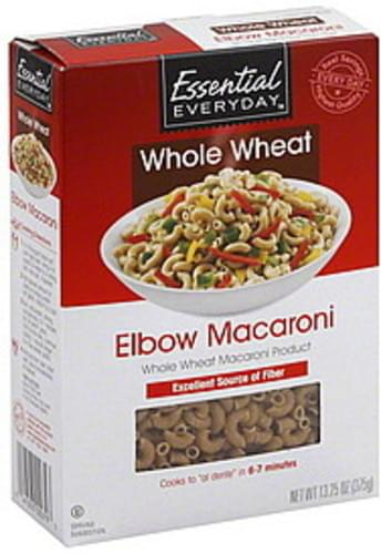 Essential Everyday Elbow, Whole Wheat Macaroni - 13.25 oz