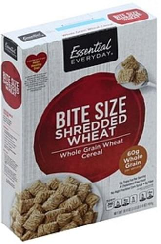 Essential Everyday Shredded Wheat, Bite Size Cereal - 16.4 oz