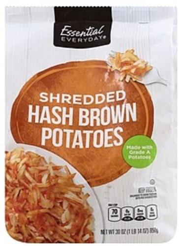 Essential Everyday Shredded Hash Brown Potatoes - 30 oz