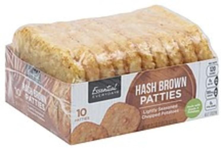 Essential Everyday Patties Hash Browns - 10 ea