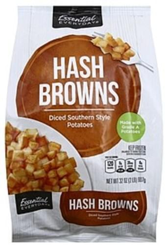 Essential Everyday Southern Style Potatoes, Diced Hash Browns - 32 oz