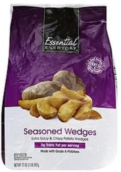 Essential Everyday Potato Wedges Seasoned